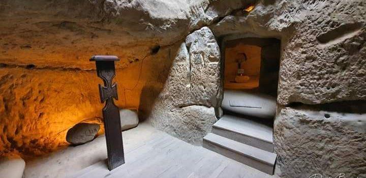 Mysterious Sinca Veche Temple Cave