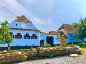 Viscri Village in Transylvania